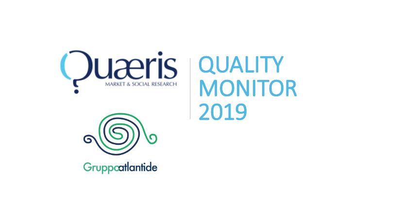 QUAERIS, membro del GRUPPO ATLANTIDE, ha sviluppato QUALITY MONITOR